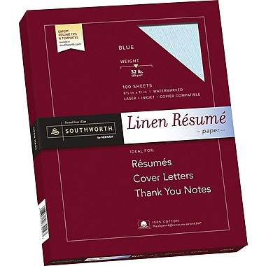 Resume paper color