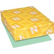 "EXACT Index Cardstock, 8 1/2"" x 11"", 110 lb., Smooth Finish, Green, 250 sheets"