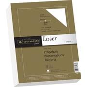"SOUTHWORTH® Premium Laser Paper, 8 1/2"" x 11"", 32 lb., Smooth Finish, Wicked White 95, 300/Box"