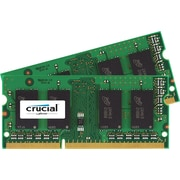 Crucial 16 GB Kit (8 GBx2) SODIMM DDR3 Laptop Memory (PC3-12800)