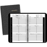 2016 AT-A-GLANCE® Weekly Appointment Book Planner, 4 7/8 x 8, Black, (70-075-05-16)