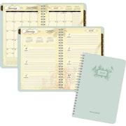 "2016 AT-A-GLANCE® Poetica Weekly/Monthly Planner, 5 1/2"" x 8 1/2"", Green, (772200)"