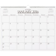 """2016 AT-A-GLANCE® Business Wall Calendar, 15"""" x 12"""", White, (997-1-16)"""