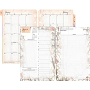 "2016 Franklin Covey® Blooms 2PagesPerDay Daily Planning Pages, 4 1/4"" x 6 3/4"", Design, (3543816)"
