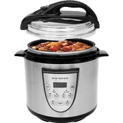 Big Boss 6-Quart Pressure Cooker, Black
