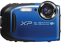 Fujifilm Waterproof Digital Camera with WiFi, Blue