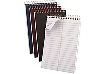 Ampad Gold Fibre® Steno Books, 6' x 9', Gregg Ruled, 100 Sheets/Pad (20-809)