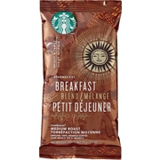 Starbucks® Breakfast Blend Ground Coffee, Regular, 2.5 oz., 18 Packets