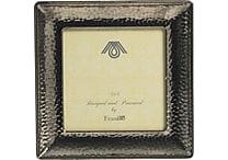 Paperchase Dark Romance Metal Silver Frame, 5.6' x 5.2' x 0.7'