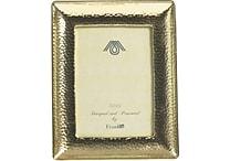 Paperchase Dark Romance Metal Gold Frame, 6.7' x 5.2' x 1.8'