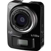 HP LC100WB Black Mini Wifi Sports Cam with 4K resolution & time lapse recording