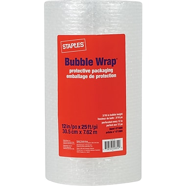 Staples® Bubble Wrap*, 12