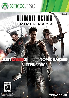 Square Enix 91619 XBox 360 Ultimate Action Triple Pack 1748566