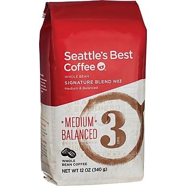 Seattle's Best Coffee® Level 3 Whole Bean Coffee, Regular, 12 oz. Bag