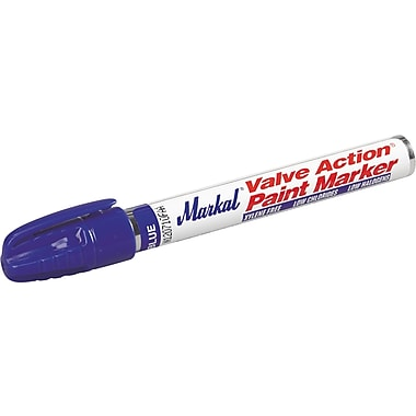 Valve Action® 1/8 in Medium Tip Paint Marker, Blue