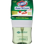 Clorox® Pump 'N Clean™ Kitchen & Dish Cleaner, Crisp Citrus Scent, 12 oz.