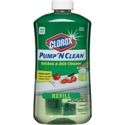 Clorox® Pump 'N Clean™ Kitchen & Dish Cleaner Refill, Crisp Citrus Scent, 24 oz.