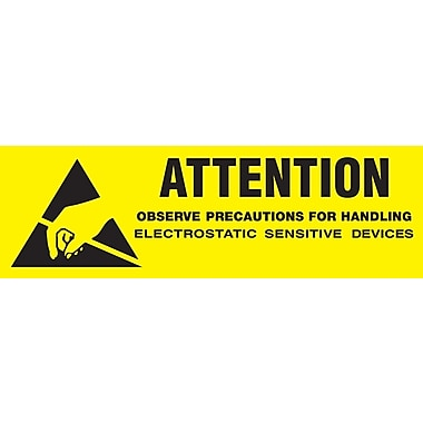 Tape Logic Attention - Observe Precautions Shipping Label, 5/8