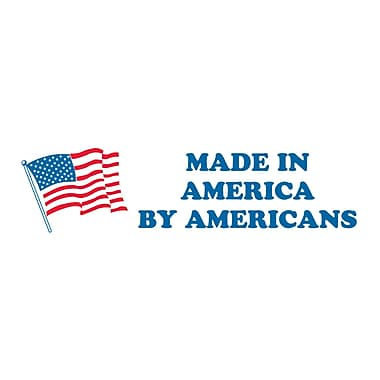 Tape Logic Made in America by Americans Shipping Label, 2