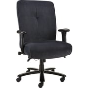 Staples Nigel Fabric Big and Tall Chair, Steel Blue