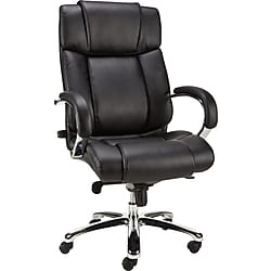 Staples Sonada Bonded Leather Managers Chair (Black)