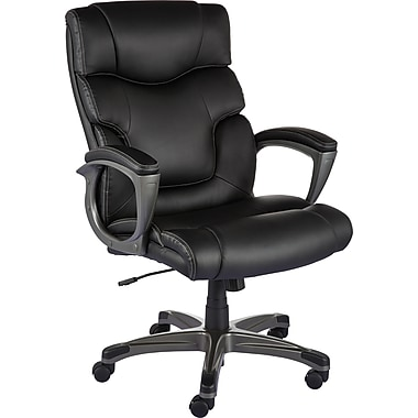 Staples Tarington Bonded Leather Managers Chair Staples