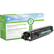 Sustainable Earth by Staples, Reman Lexmark E260 Black Toner Cartridge, (SEBE260XR), High Yield