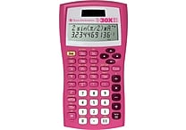 Texas Instruments® TI-30X IIS Scientific Calculator, Pink