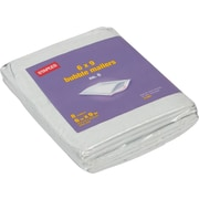 "Staples #0 Bubble Mailer, 6"" x 9"", White Poly, 8/Pack (27263-US/CC)"