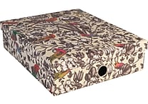 Paperchase Paradiso Stationery Box, 12.7' x 10.3' x 3.3'