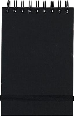 Paperchase Topbound NTBK A7 BLK Kraft