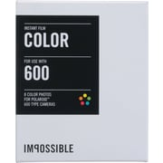 Impossible Instant Color Film for Polaroid 600-Type Cameras (White Frame)