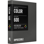 Impossible Instant Color Film for Polaroid 600-Type Cameras (Black Frame)