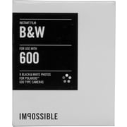 Impossible Instant Black & White 2.0 Film for Polaroid 600-Type Cameras