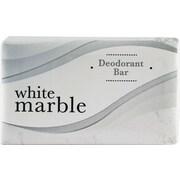 Individually Wrapped Deodorant Bar Soap, White, .75oz Bar, 1000/Ct