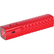 Altec 2,600 mAh Power Stick Universal USB Charger and Flashlight, Red
