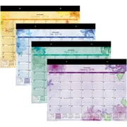 "2016 AT-A-GLANCE® Beautiful Day Large Desk Pad, 21 3/4"" x 17"", Purple, (SK38-704-16)"