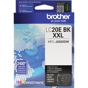 Brother LC20E XXL Black Ink, LC20EBK, Extra High Yield