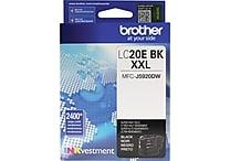 Brother LC20E XXL Black Ink, LC20EBK, Extra High Yield