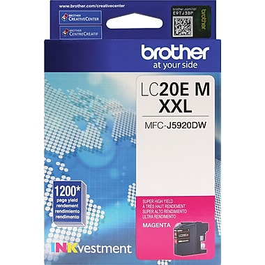 Brother LC20E XXL Magenta Ink