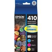Epson 410 Color C/M/Y Ink Cartridges (T410520-S), Combo 3/Pack