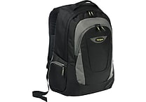 Targus 16' Trek Laptop Backpack, Black/Gray (TSB193US)