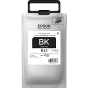Epson DURABrite Ultra TR12120 Black Ink Pack, TR12120, Standard Capacity