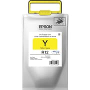 Epson DURABrite Ultra TR12420 Yellow Ink Pack, TR12420, Standard Yield