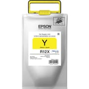 Epson DURABrite Ultra TR12X420 Yellow Ink Pack, TR12X420, High Yield