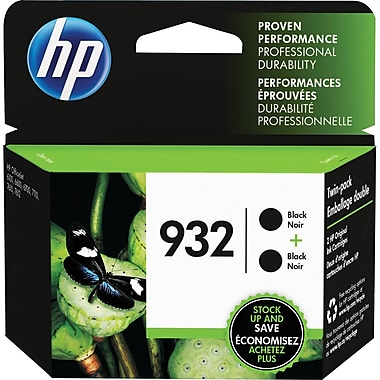 HP 932 (L0S27AN#140) Black Ink, 2PK
