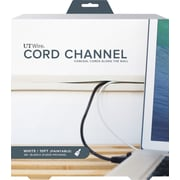 10 FT CORD CHANNEL- WHITE
