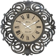 "Infinity Instruments 18"" Traditional Wall Clock, Paris"