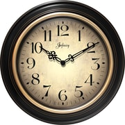 "Infinity Instruments 24"" Traditional Large Wall Clock, Birmingham"