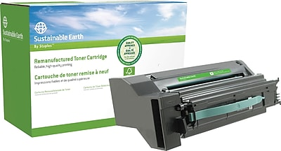 Sustainable Earth by Staples Reman Color Laser Toner Cartridge Lexmark C780 Yellow High Yield